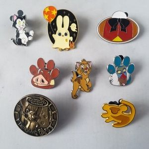 Disney Trading Pins Official Animals Theme Lot 8